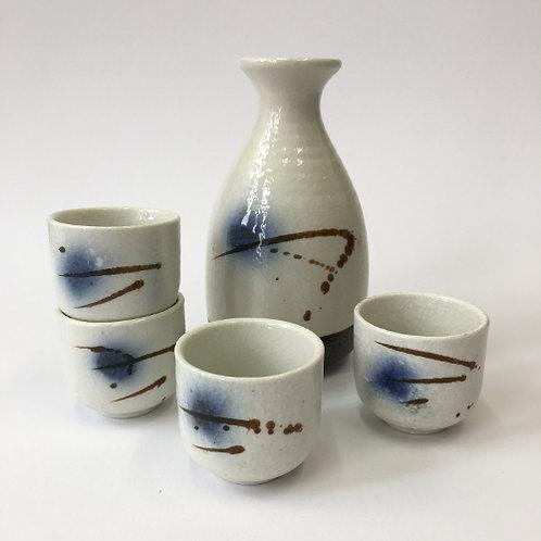 Sake set 5 delig