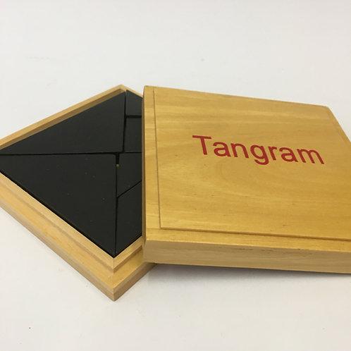 Tangram hout spel game houtendoos