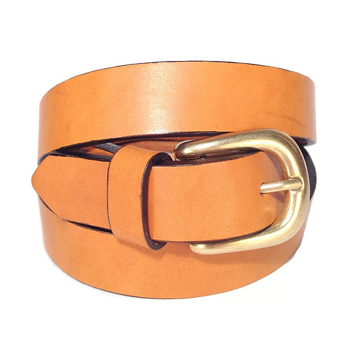 Tan Leather Belt | F004