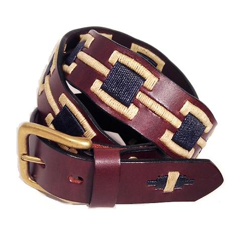 Handmade Waxed Thread Belt | F0717