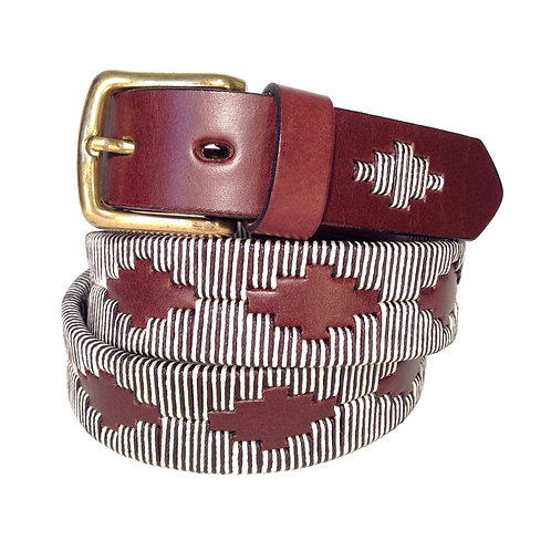 Handmade Waxed Thread Belt | F0726