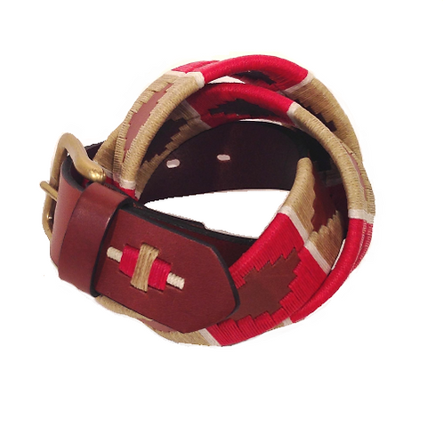 Handmade Waxed Thread Belt | F0610