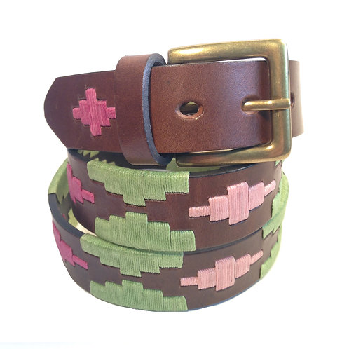 Handmade Waxed Thread Belt | F0715