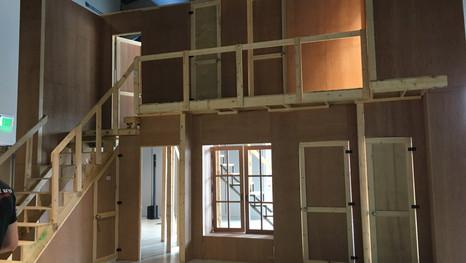 Installation of set