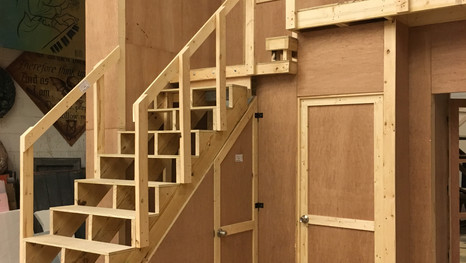 Staircase and Doors