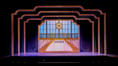 """Staircase in """"Lullaby of Broadway"""""""