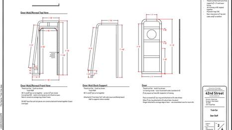 Train Car Door