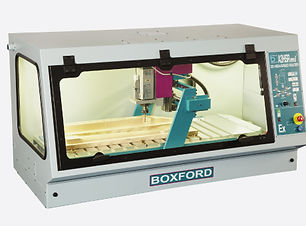 Extended bed CNC router for wood and plastics