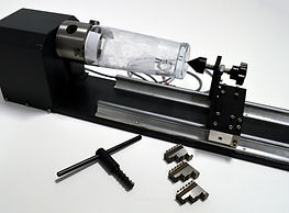 Rotary attachment for C02 laser