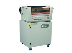 Ex-demo Gravograh laser cuttng machine
