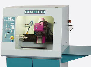 CNC combination machine for machining steel and alloys