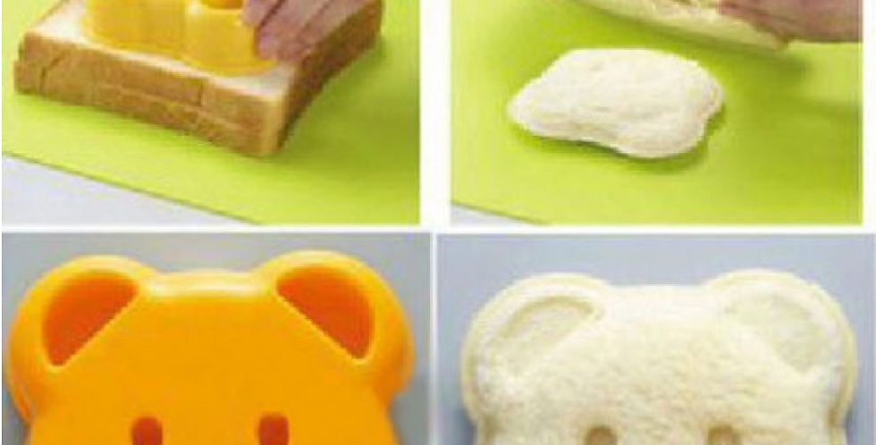 Bear Sandwich Pocket Mold