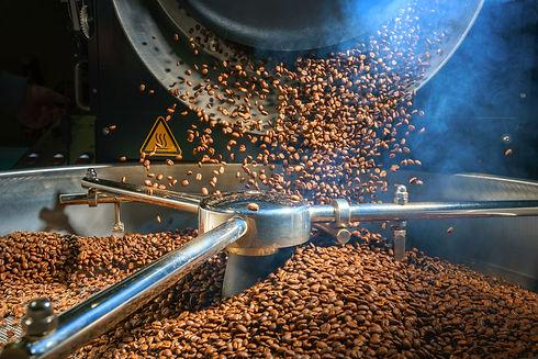 Mixing roasted coffee.jpg