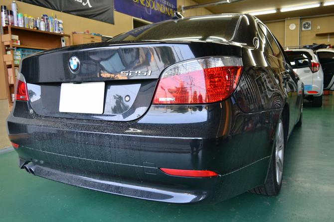 BMW 525i E60、Audi A6 エンジンスターター取付!!