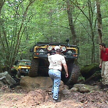 Dan Nutkis's D90 over the big rock.  Here's Dan & Alan checking out