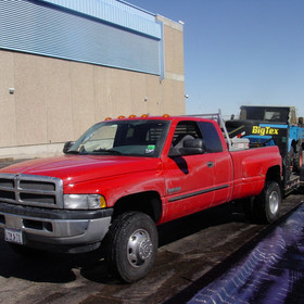 My Dodge Truck and trailer