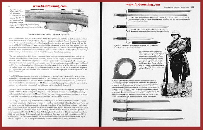 Hopkins Allen Belgian 1889 Mauser