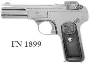The Difference between the FN Browning Model 1899 & 1900