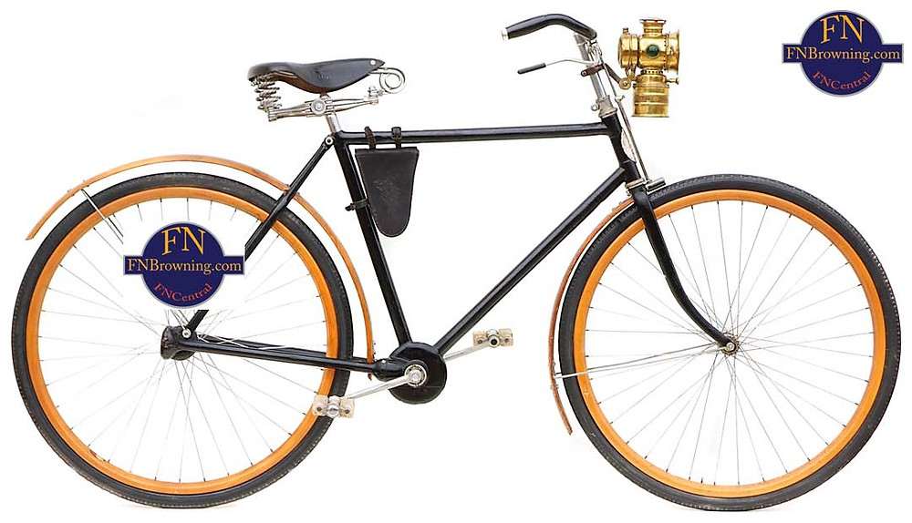 1906 FN Chainless acatene shaft driven bicycle