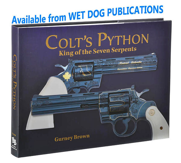 Colt Python book by Guney Brown