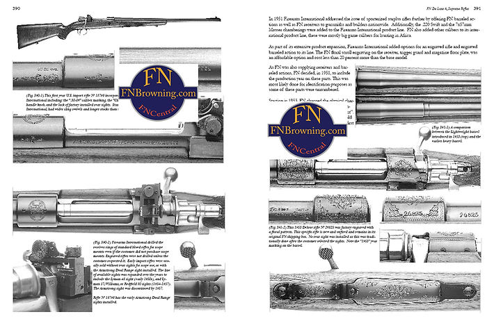 book FN Mauser Rifles Arming Belgium and the World