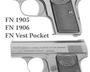 The Difference between the FN Browning Model 1905 and Baby Browning