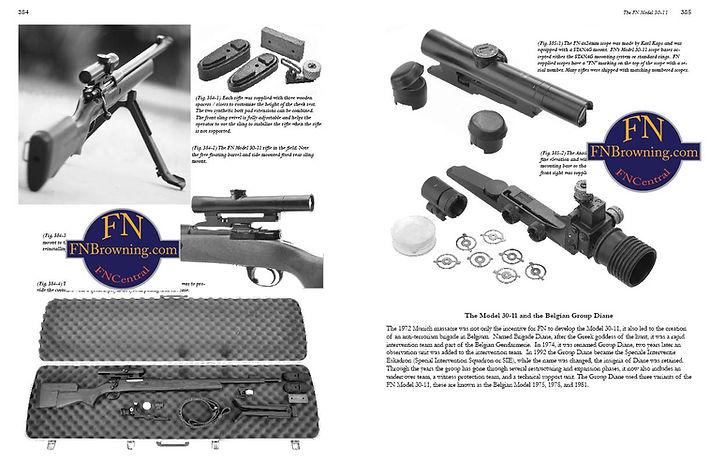 FN 30-11 sniper rifle Anthony Vanderlinden