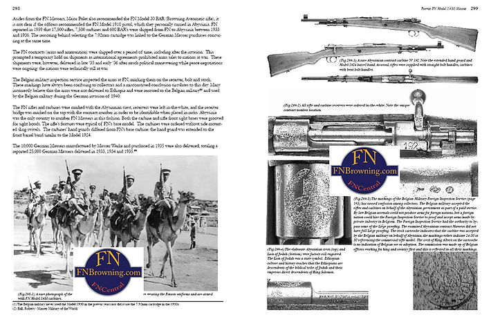 Ethiopian FN Mauser Model 1930