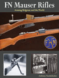 FN Mauser Rifles, Arming Belgium and the World, book Anthony Vanderlinden