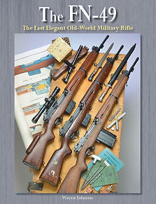 FN-49 Last Elegant Military Rifle book c