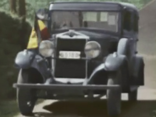 A Rare Glimpse at an FN Automobile in Wartime Footage