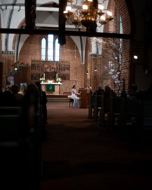Amelie Ricas, 2020, St.Michaelis Kirche.