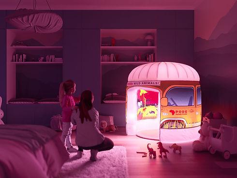 Sunset Savanna Safari Parent and child bedroom sensory play tent.jpg