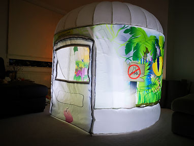 Walking With Dinosaurs Sensory room tent