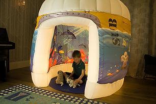 PODS sub aqua quest sensory play tent.jp