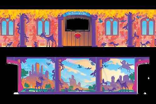 Removable Theme - Magical Princesses Palace