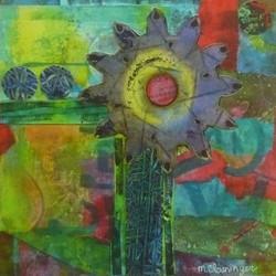 Swirling Flowers Series #1
