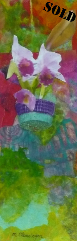 Orchid Wall #2_SOLD