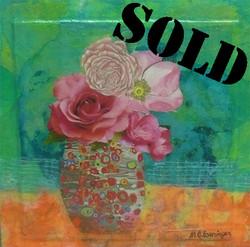 Flowers for Klimt_SOLD