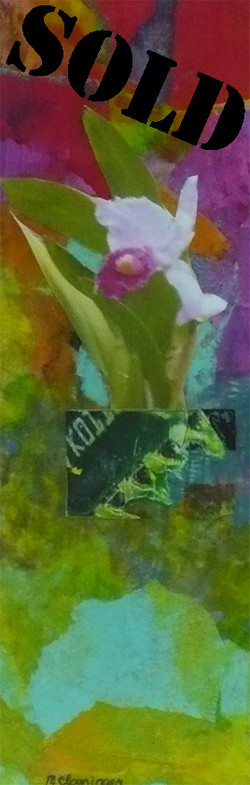 Orchid Wall #1_SOLD