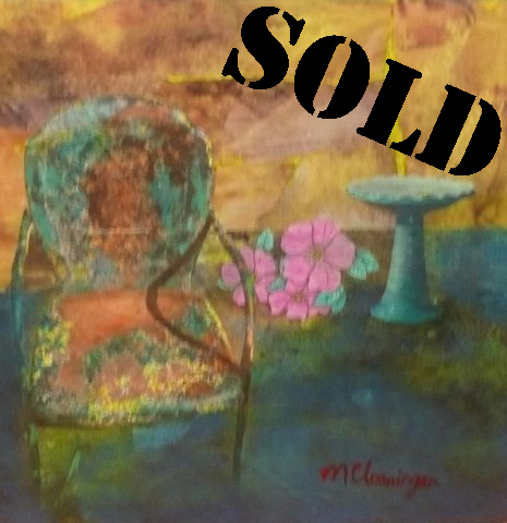 Garden Chair_SOLD