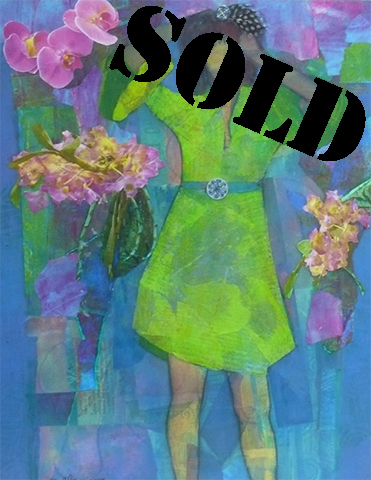 Figure in Orchid House_SOLD