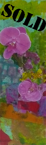 Orchid Wall #3_SOLD