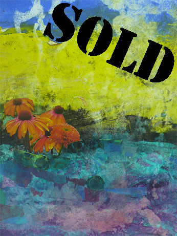 Orange Flowers_SOLD