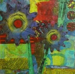 Swirling Flowers Series #4
