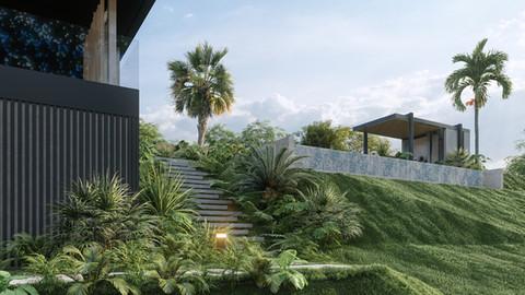 Casa Inkambu 01 - Exterior y paisajismo