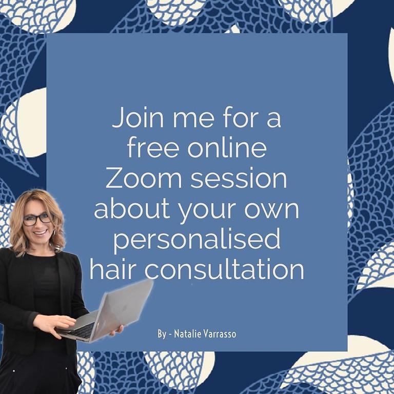 New hair looks: online consultation info session