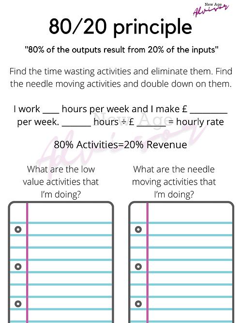 80/20 Principle Worksheet.pdf
