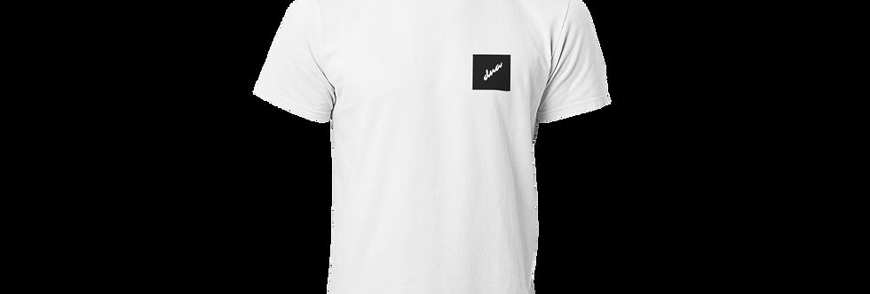 Box logo T-shirt white/black