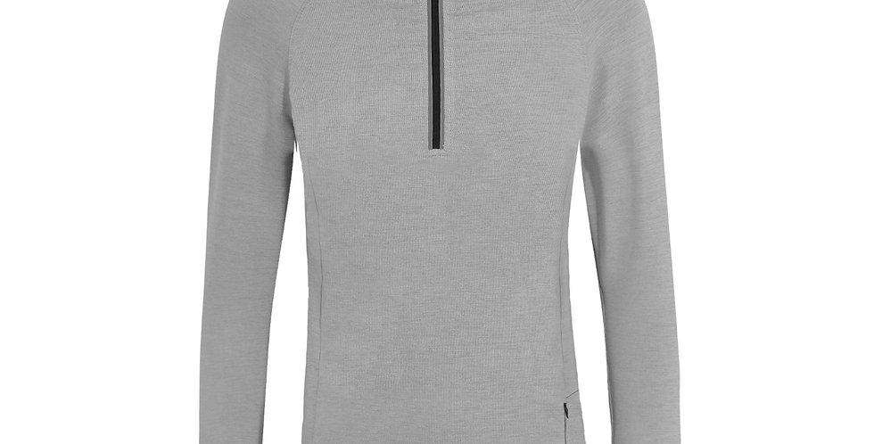Grey 1/4 Zip Jacket